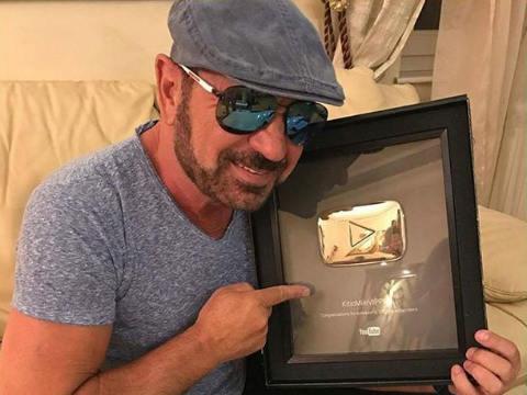 Mile Kitić се сдоби със сребърно лого от YouTube