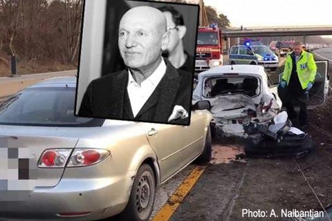 Šaban Šaulić загина в пътно произшествие