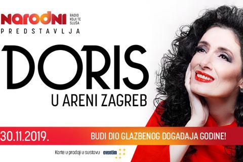 """Концерт, който се очакваше отдавна: Doris Dragović в """"Arena"""" Загреб"""