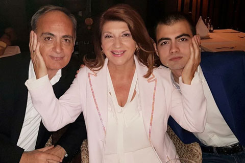 Biljana Jevtić и Aleksandar Ilić отпразнуваха 30 години брак