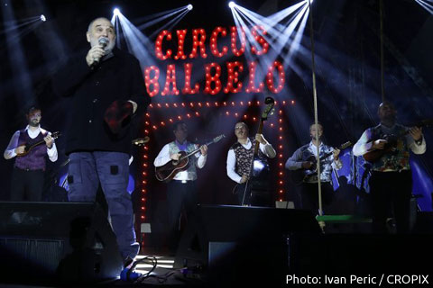 Đorđe Balašević: Първи концерт след инфаркта