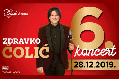 "Zdravko Čolić с шест концерта в белградската ""Arena!"""