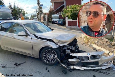 Darko Filipović претърпя тежко пътно произшествие