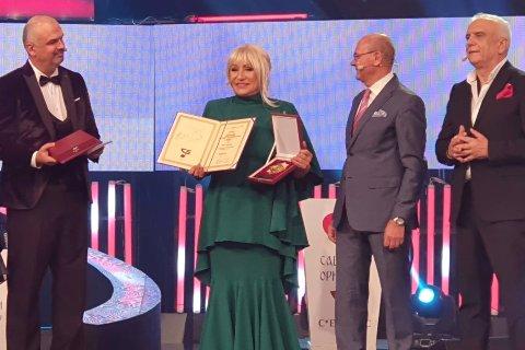 Vesna Zmijanac получи престижна награда за принос към народната музика