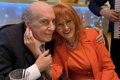 Predrag Živković Tozovac се ожени на 84 години