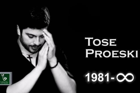 Днес Toše Proeski щеше да празнува 40-я си рожден ден