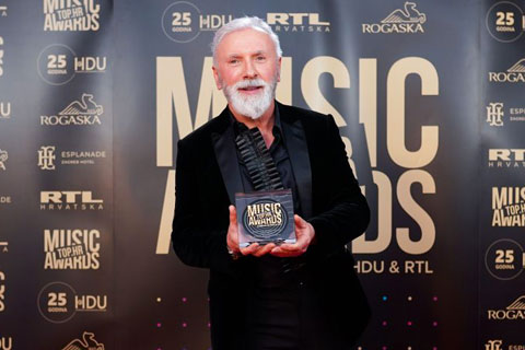 Dino Merlin спечели Top.HR Music awards 2021