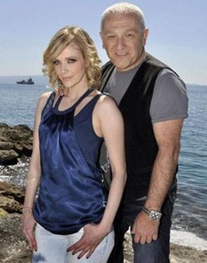 Željko Samardžić и Jelena Rozga записват клип в Сплит